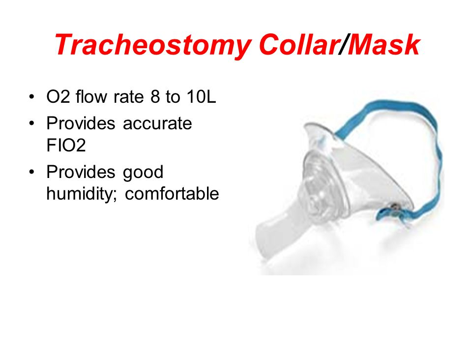 Tracheostomy Collar/Mask