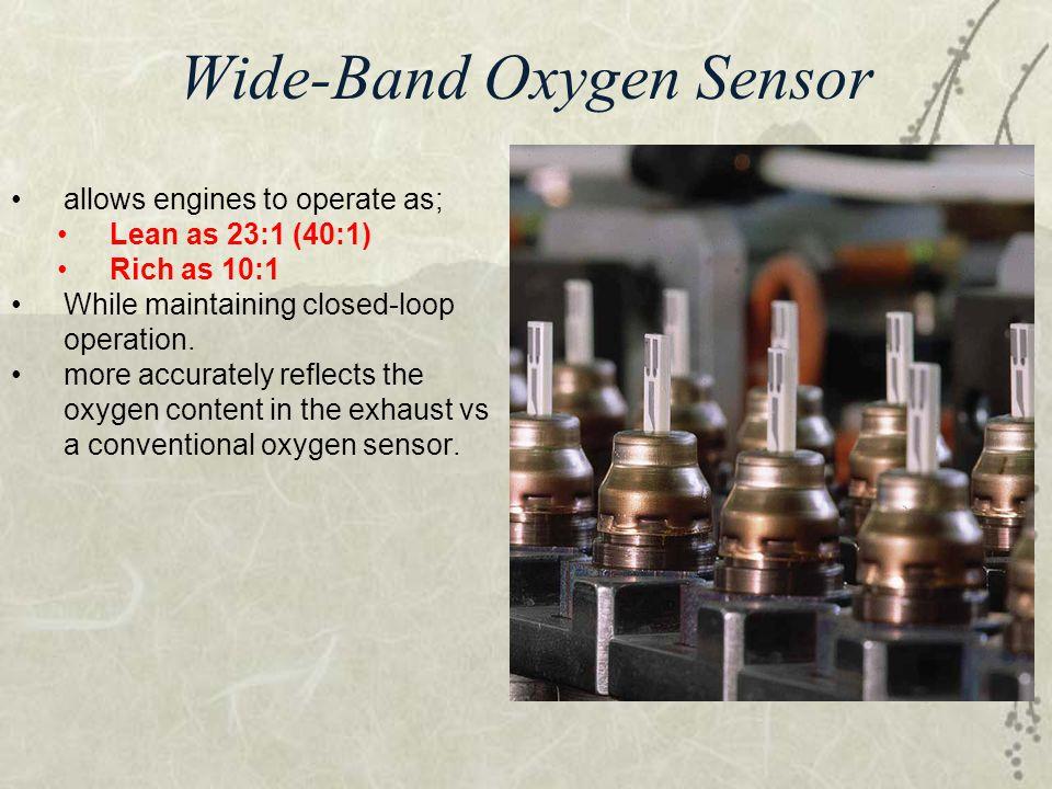 Wide-Band Oxygen Sensor