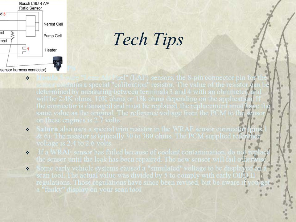 Tech Tips TECH TIPS.