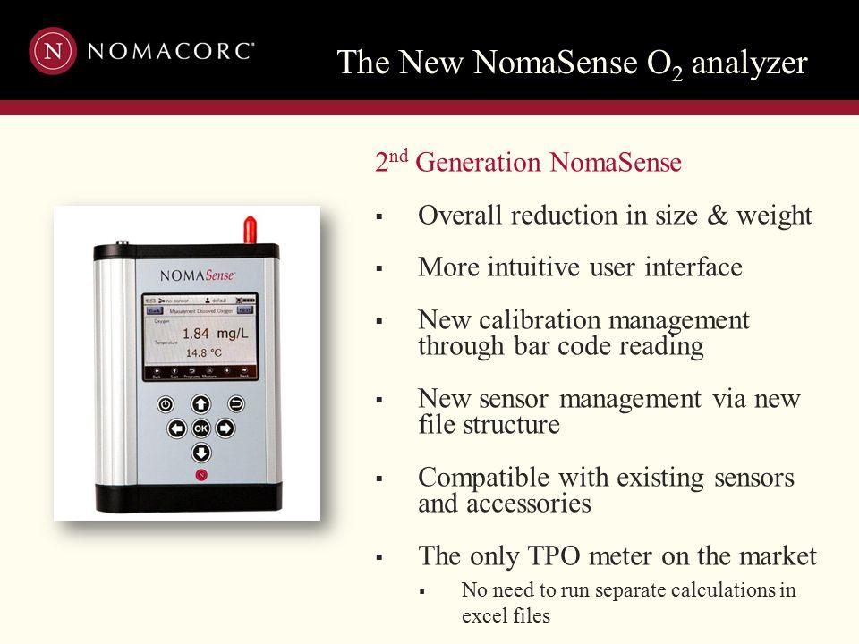 The New NomaSense O2 analyzer