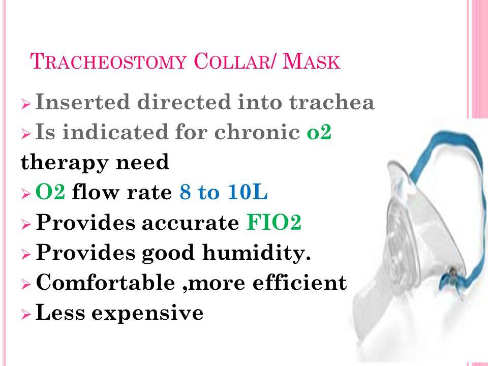 Tracheostomy Collar/ Mask