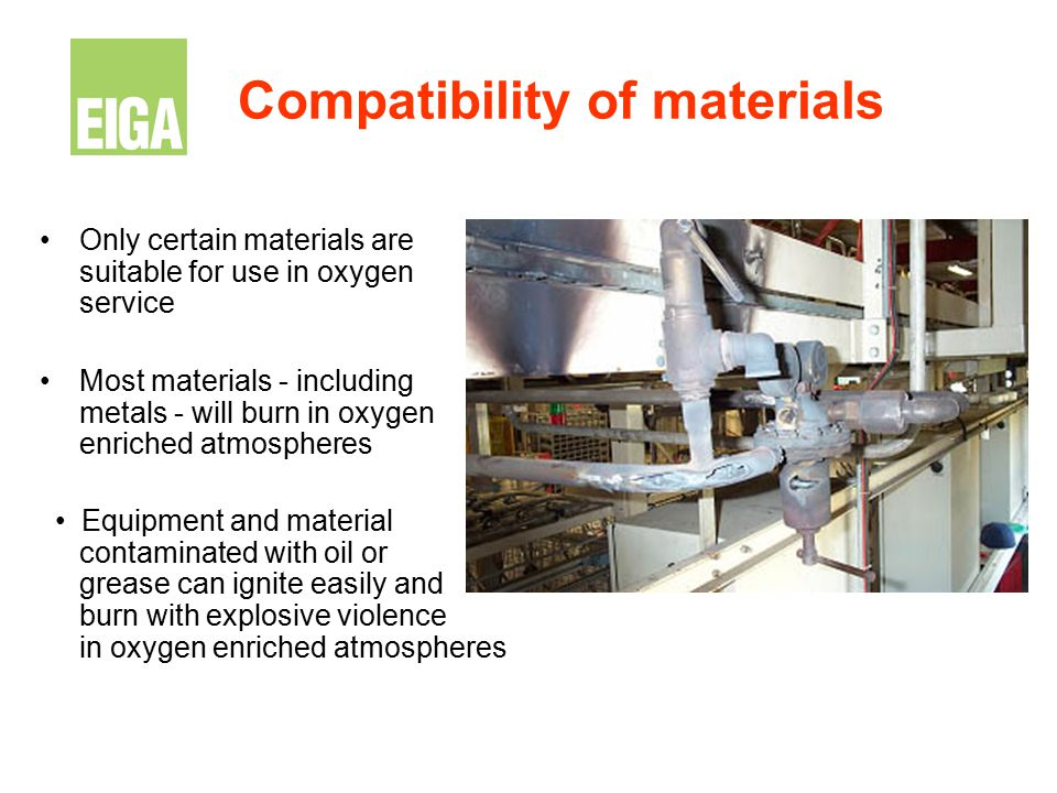 Compatibility of materials