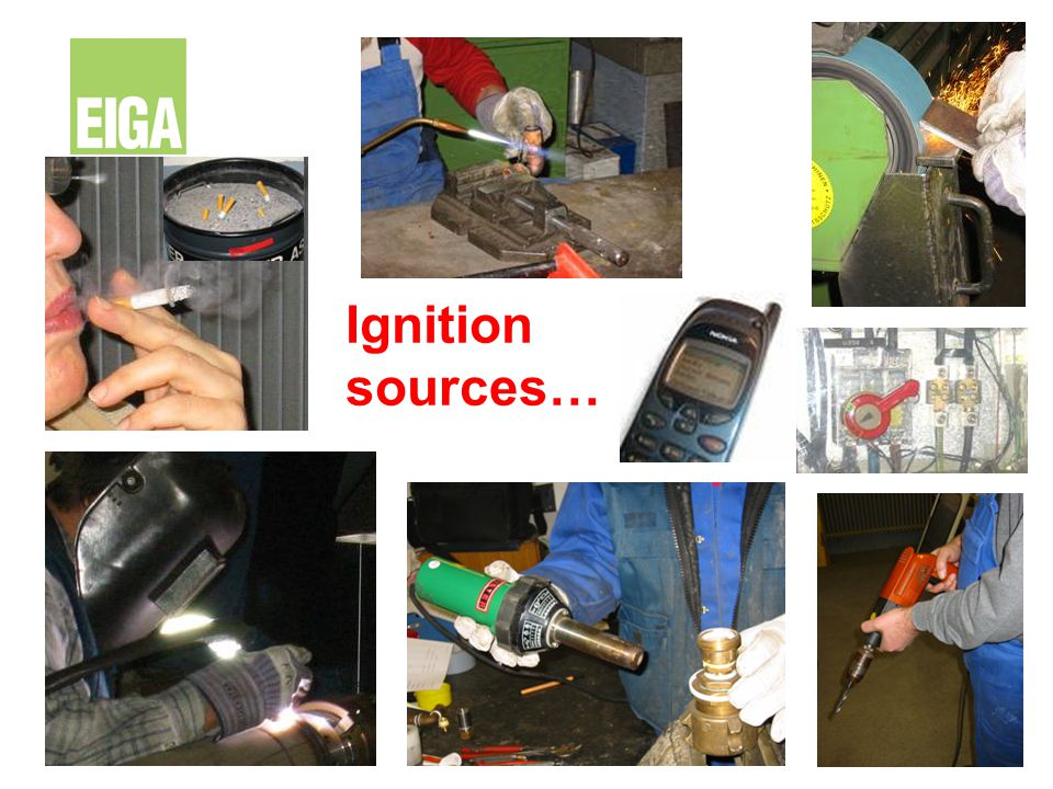 Ignition sources…