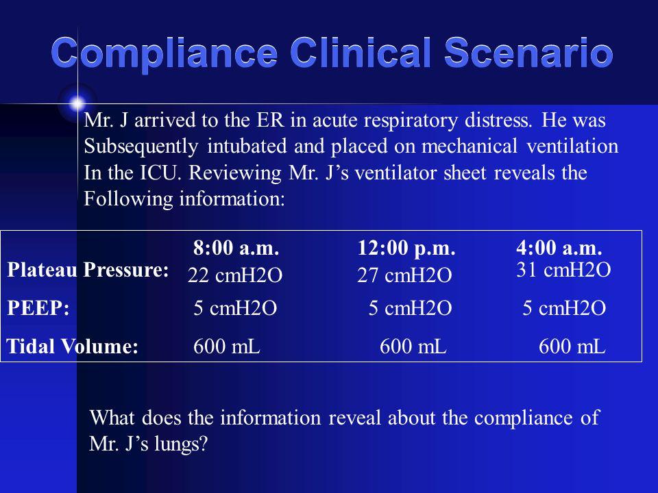 Compliance Clinical Scenario