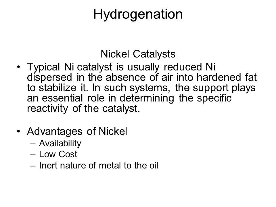 Hydrogenation Nickel Catalysts
