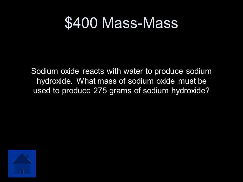 $400 Mass-Mass