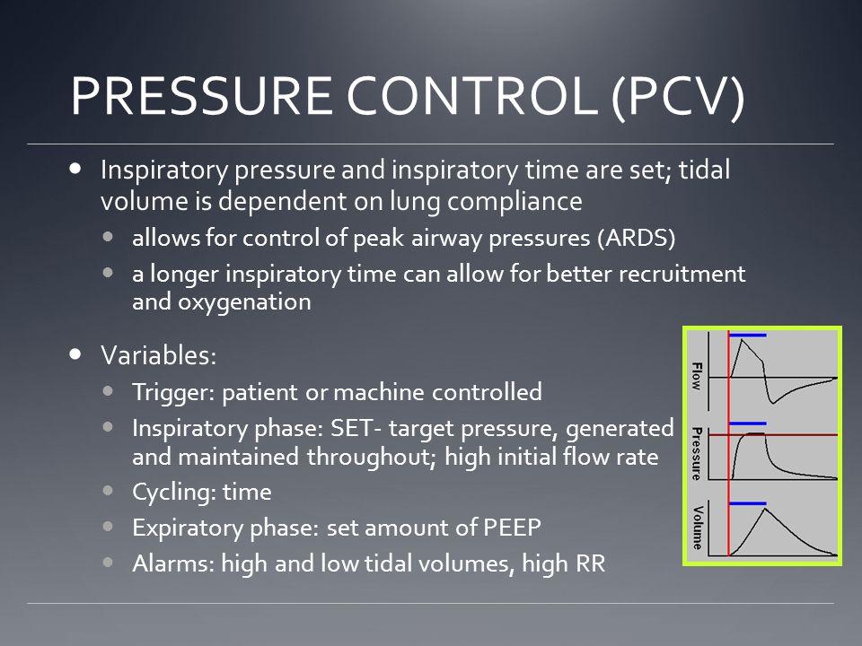 PRESSURE CONTROL (PCV)