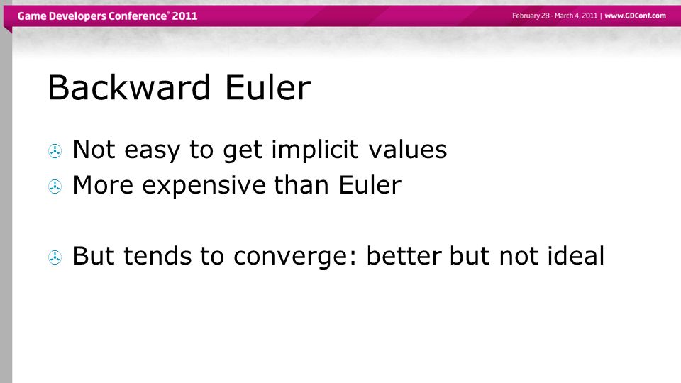 Backward Euler Not easy to get implicit values