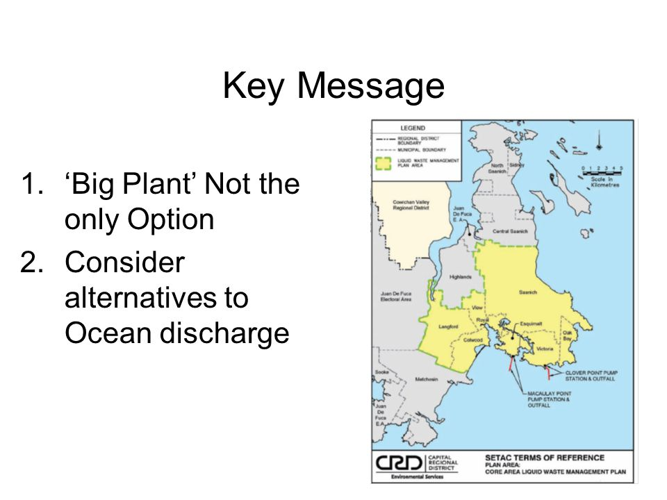 Key Message 'Big Plant' Not the only Option