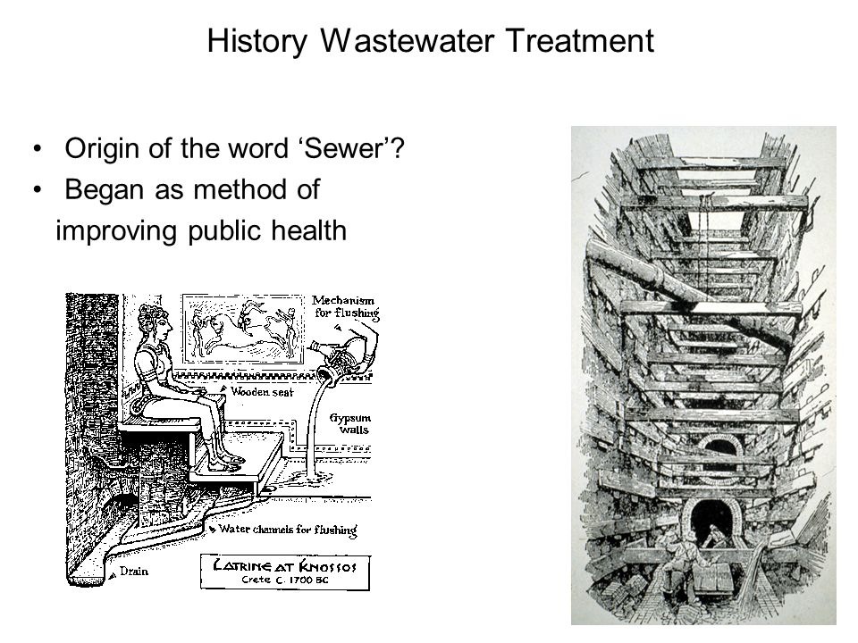History Wastewater Treatment