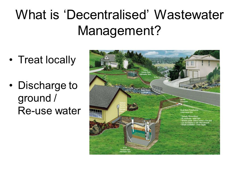 What is 'Decentralised' Wastewater Management
