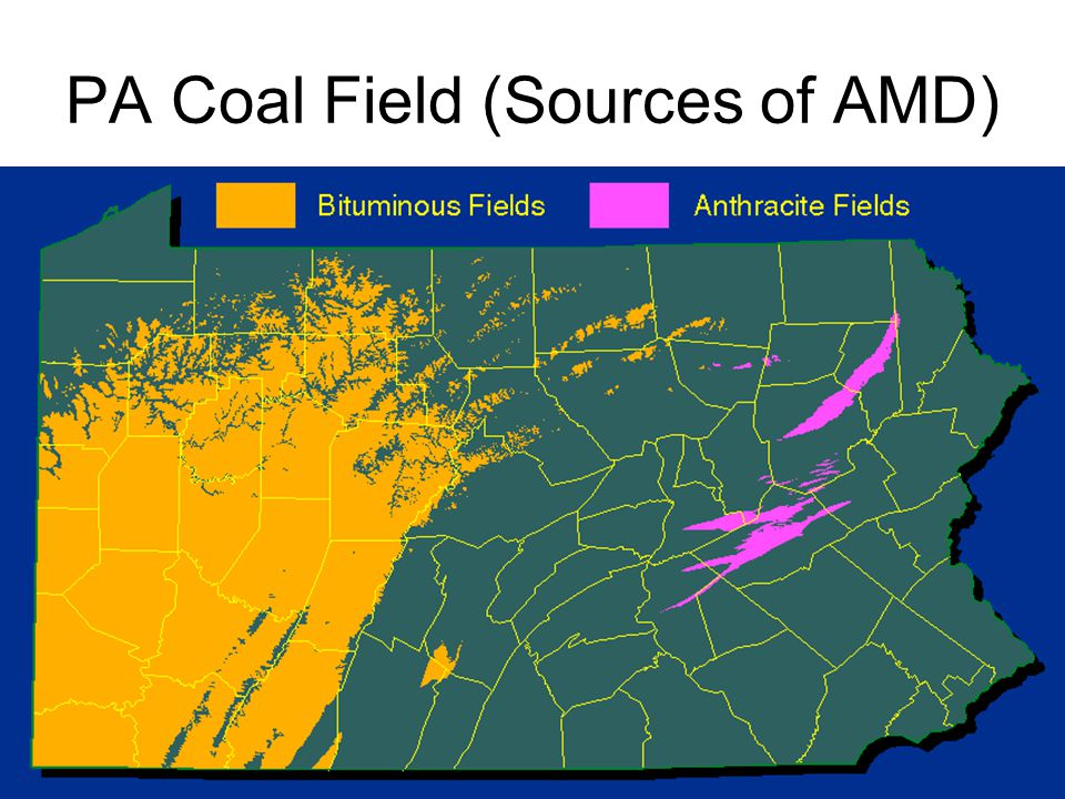 PA Coal Field (Sources of AMD)