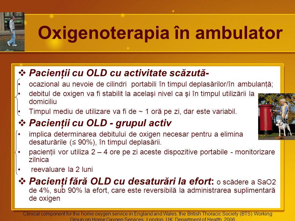 Oxigenoterapia în ambulator
