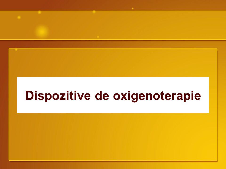 Dispozitive de oxigenoterapie