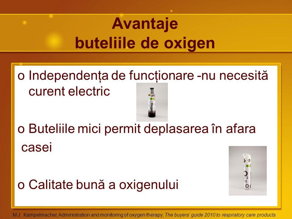 Avantaje buteliile de oxigen