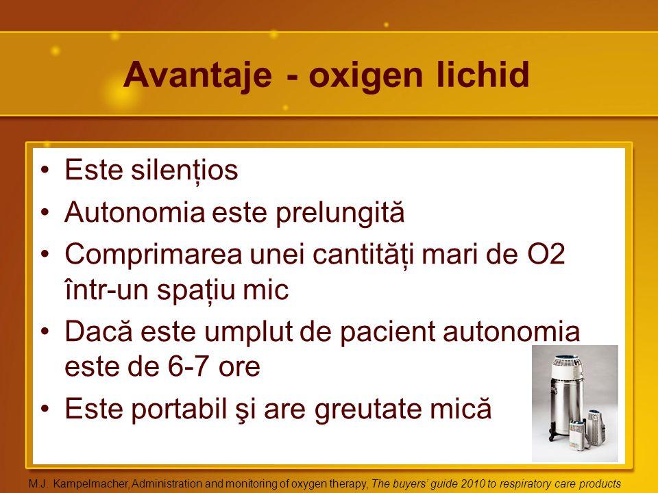 Avantaje - oxigen lichid
