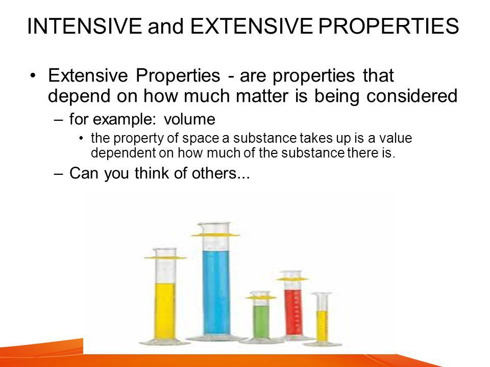 Types Of Properties Examples Of Intensive Extensive Properties Of Matter