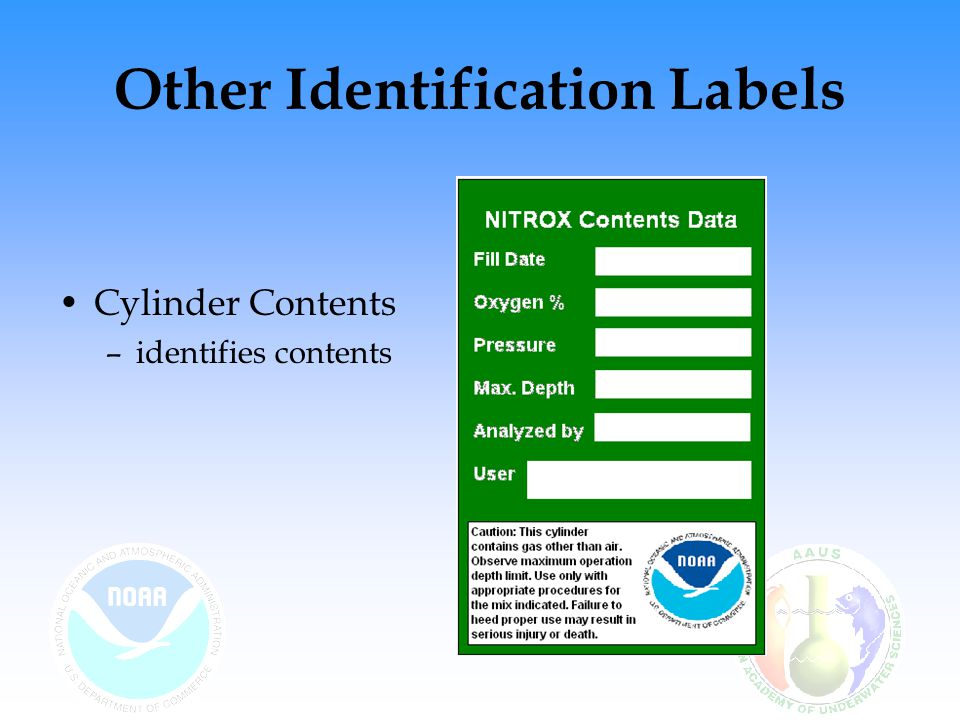 Other Identification Labels