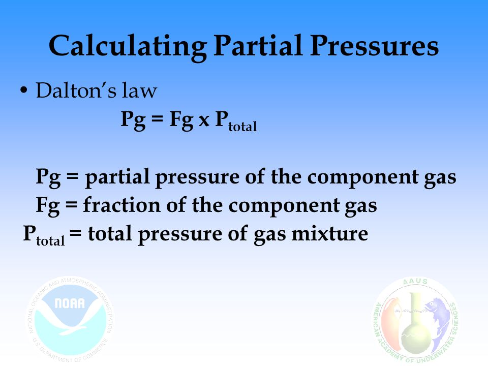 Calculating Partial Pressures