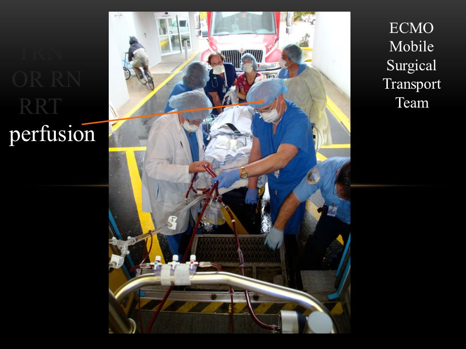 ECMO Mobile Surgical Transport Team