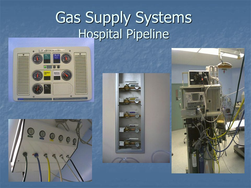 Gas Supply Systems Hospital Pipeline