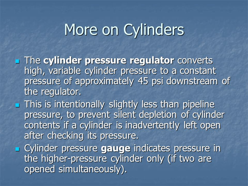 More on Cylinders