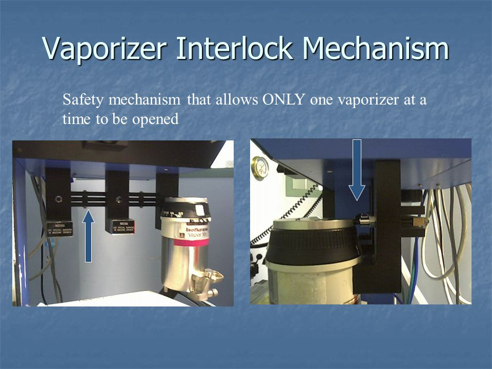 Vaporizer Interlock Mechanism
