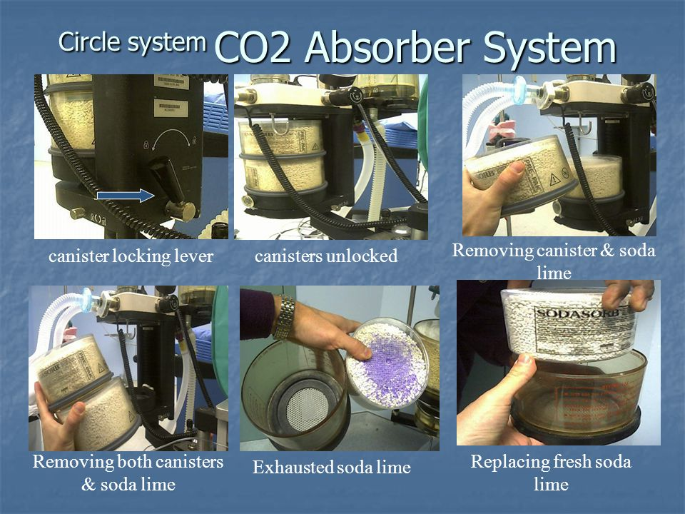 Circle system CO2 Absorber System