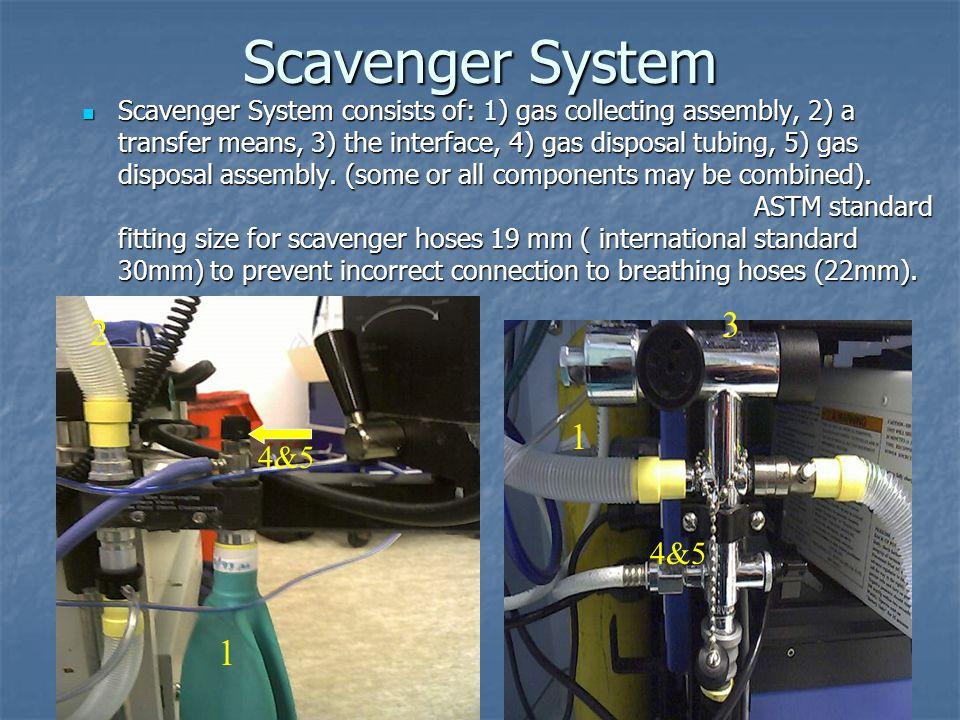 Scavenger System