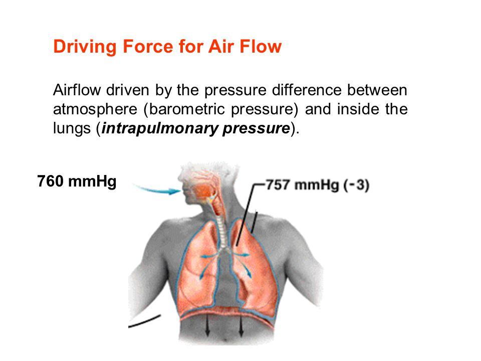 Driving Force for Air Flow