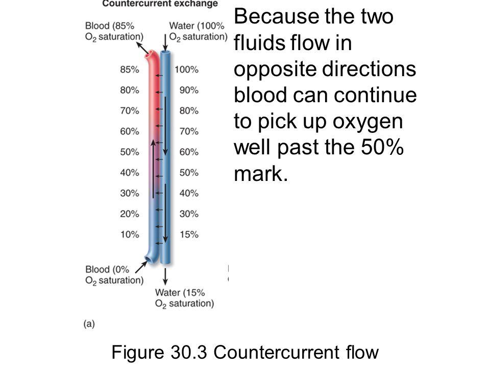 Figure 30.3 Countercurrent flow