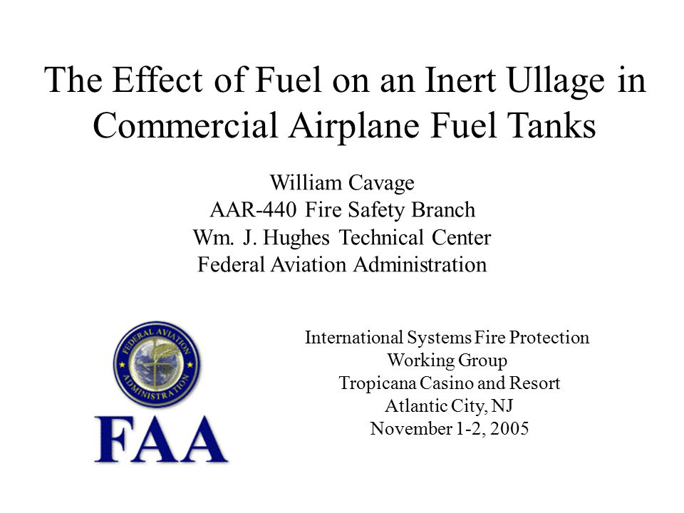 The Effect of Fuel on an Inert Ullage in Commercial Airplane Fuel Tanks