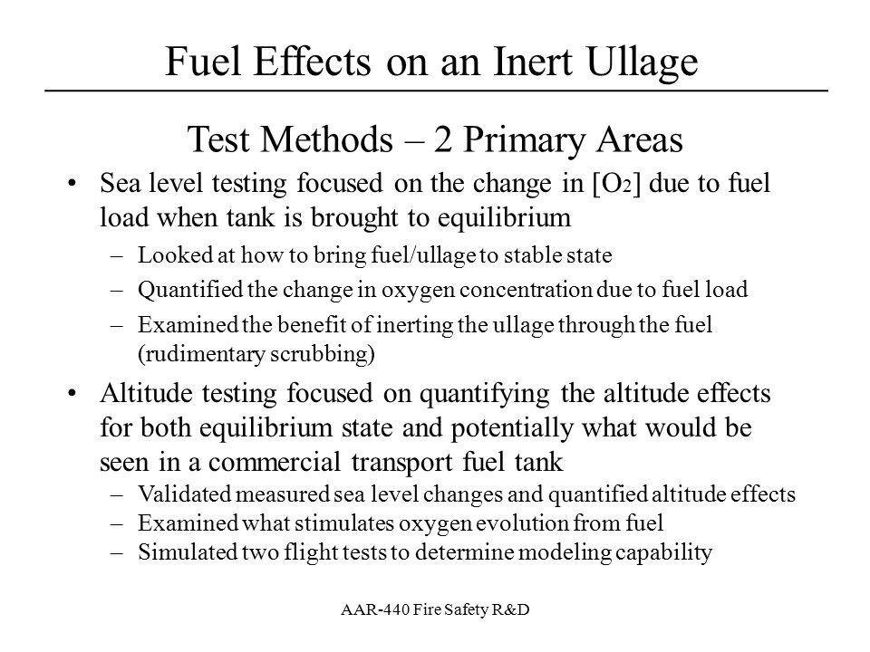 Test Methods – 2 Primary Areas