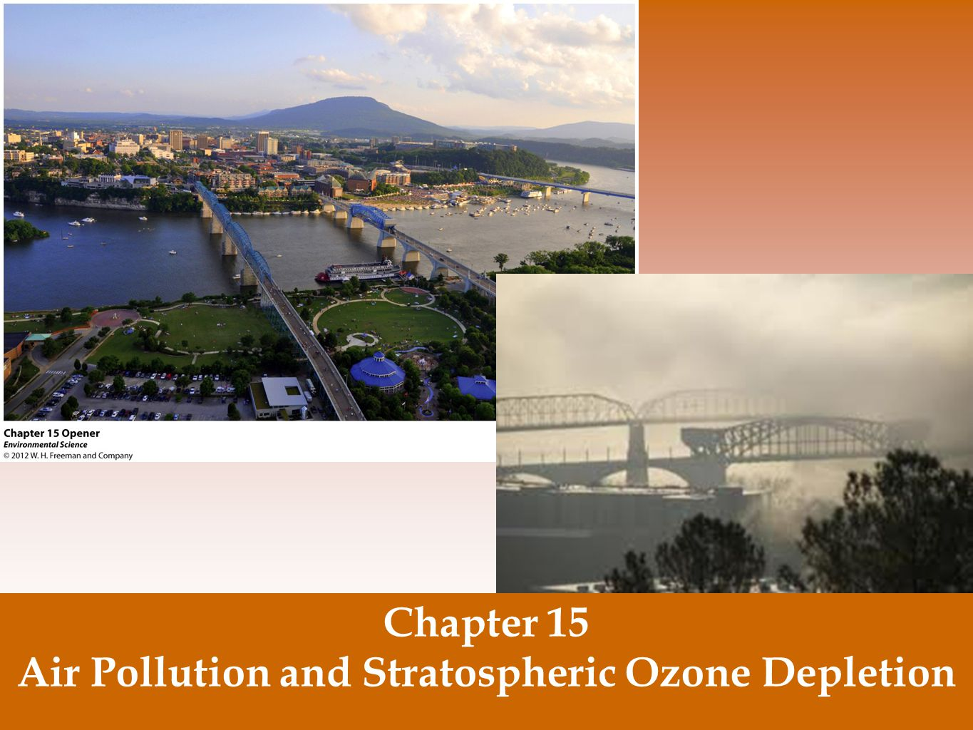 Air Pollution and Stratospheric Ozone Depletion