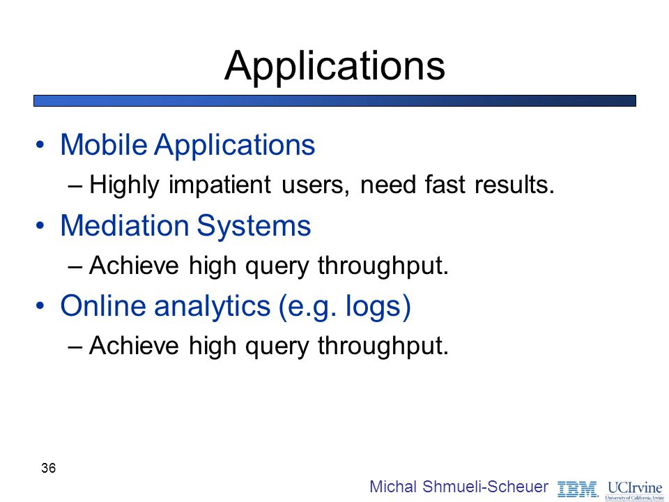 Applications Mobile Applications Mediation Systems