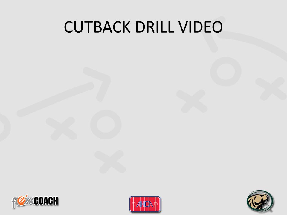 CUTBACK DRILL VIDEO