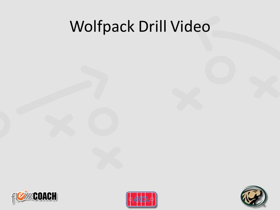 Wolfpack Drill Video