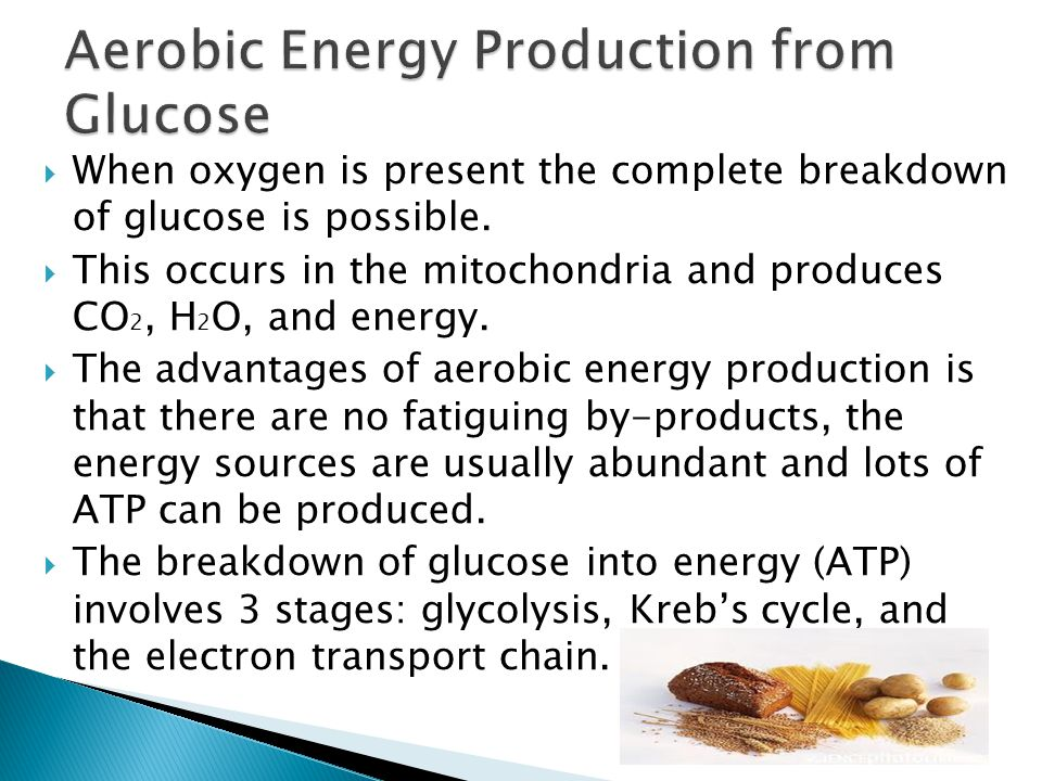 Aerobic Energy Production from Glucose