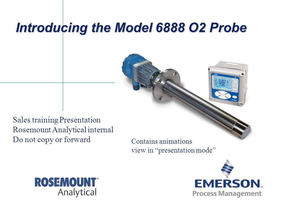 Introducing the Model 6888 O2 Probe