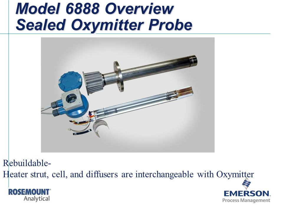 Model 6888 Overview Sealed Oxymitter Probe