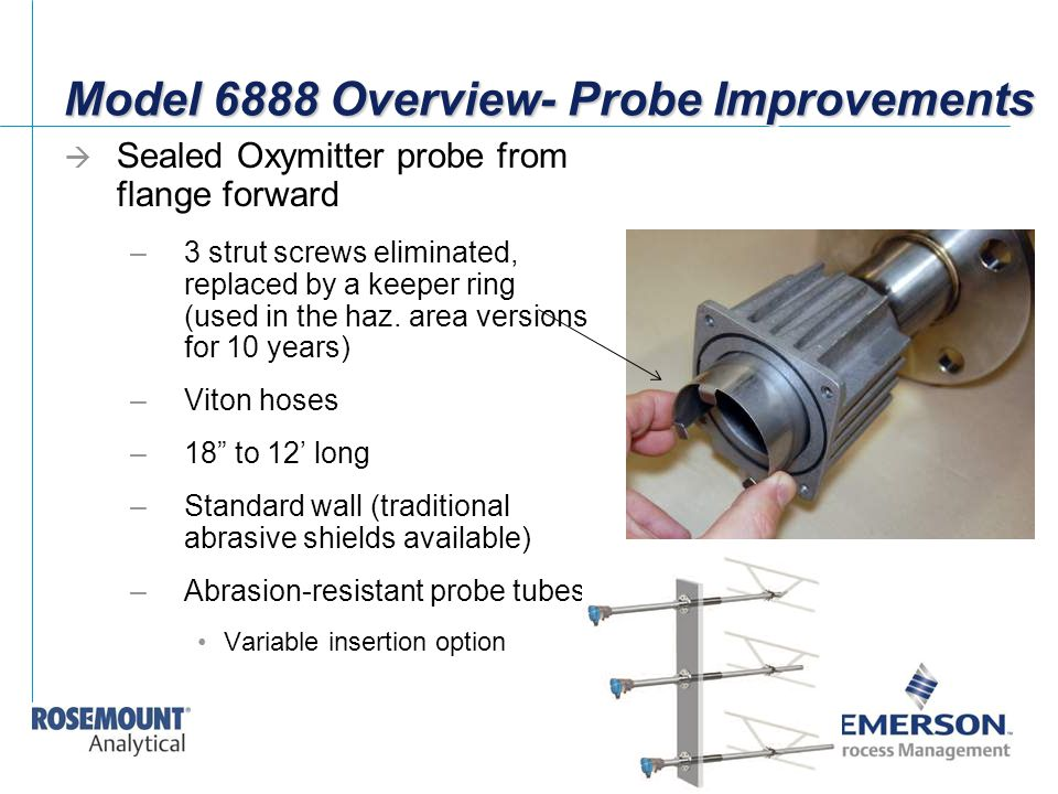 Model 6888 Overview- Probe Improvements