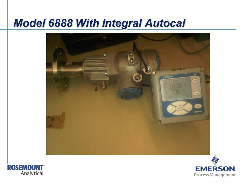 Model 6888 With Integral Autocal