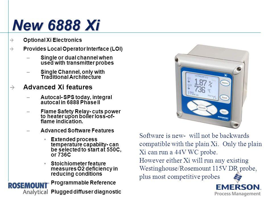 New 6888 Xi Advanced Xi features