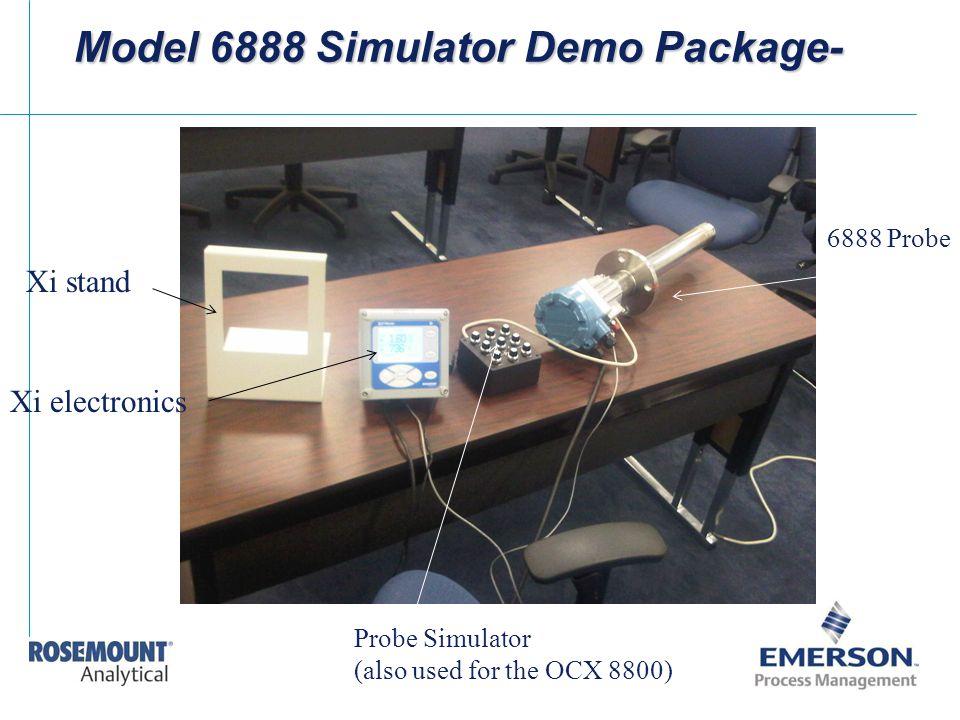 Model 6888 Simulator Demo Package-