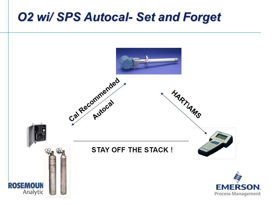 O2 wi/ SPS Autocal- Set and Forget