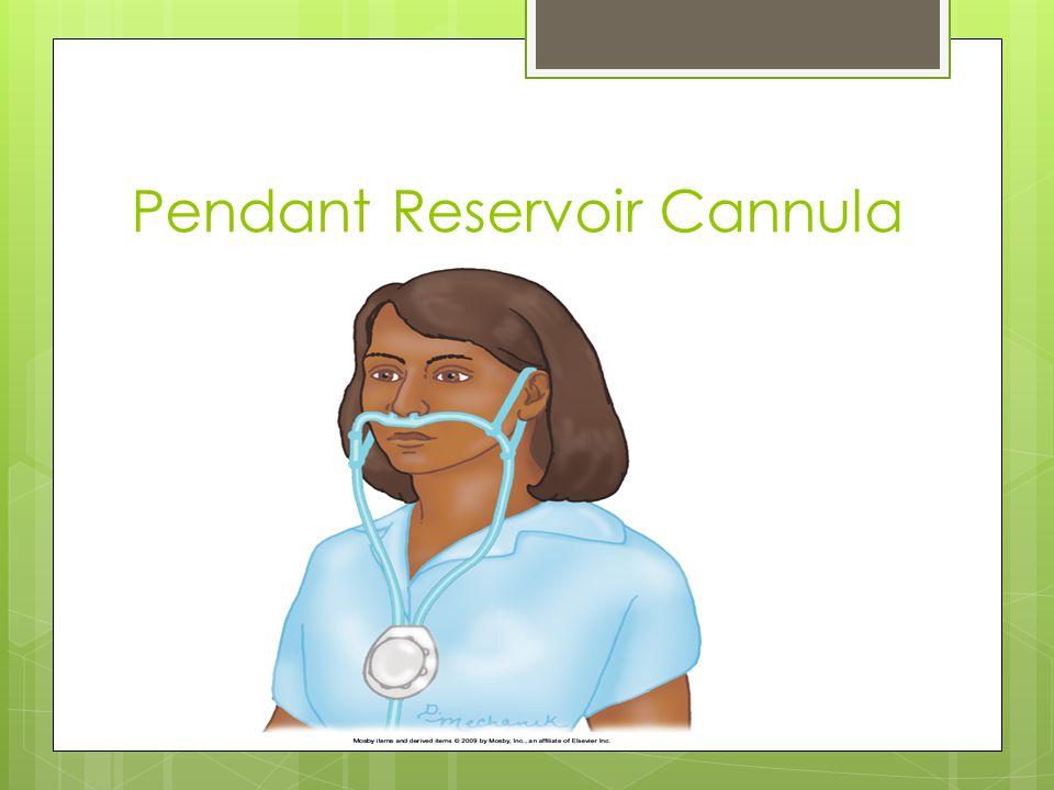 Pendant Reservoir Cannula
