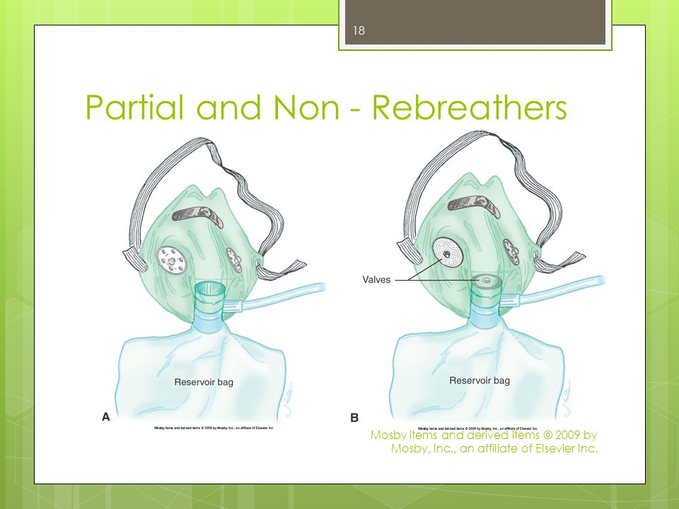 Partial and Non - Rebreathers