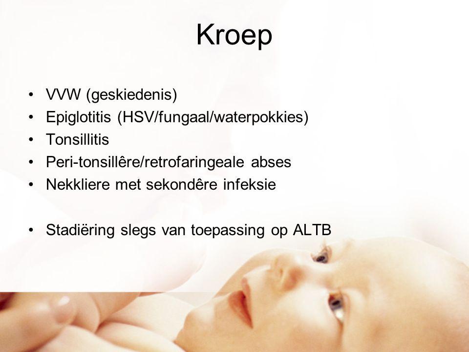 Kroep VVW (geskiedenis) Epiglotitis (HSV/fungaal/waterpokkies)