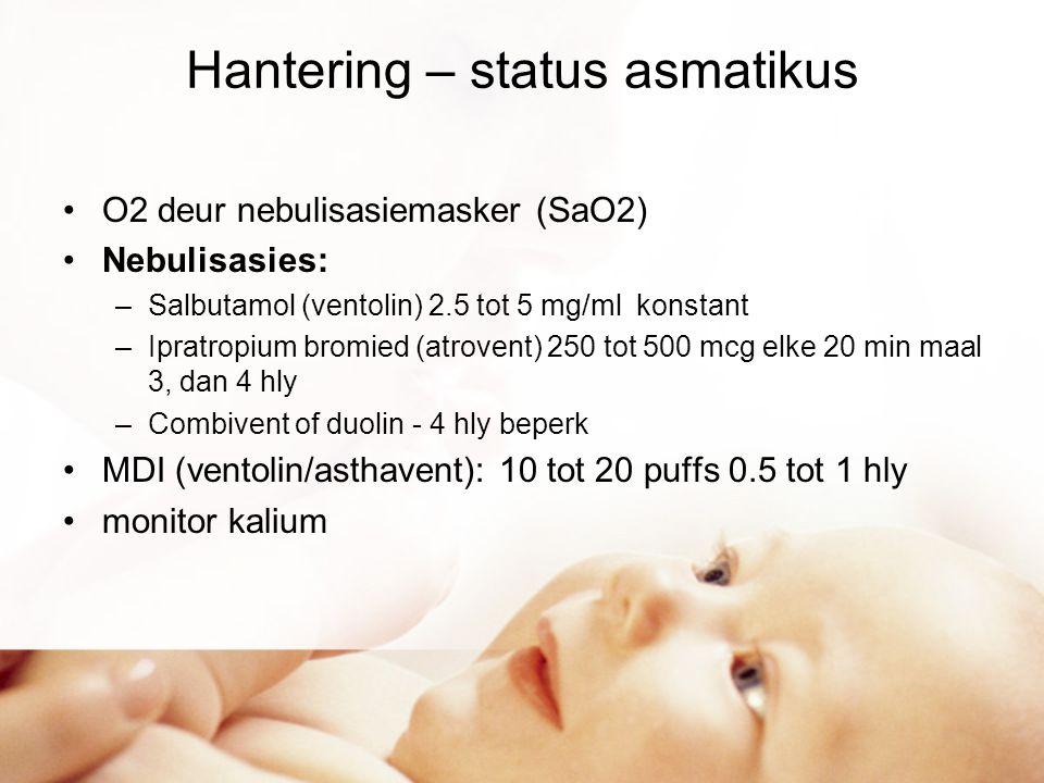 Hantering – status asmatikus