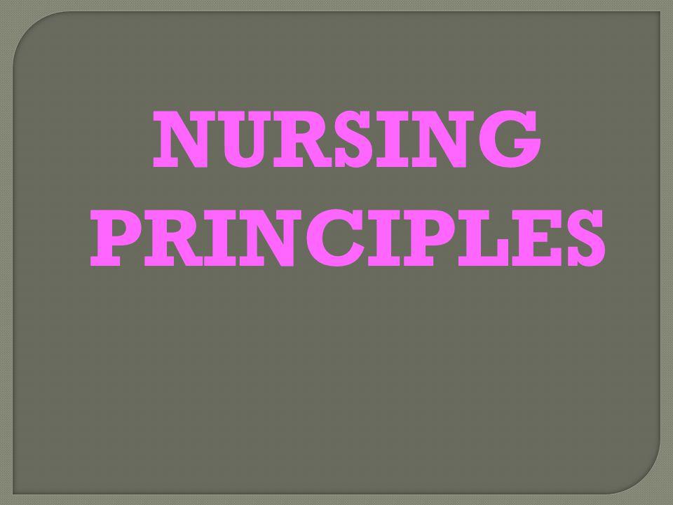 NURSING PRINCIPLES